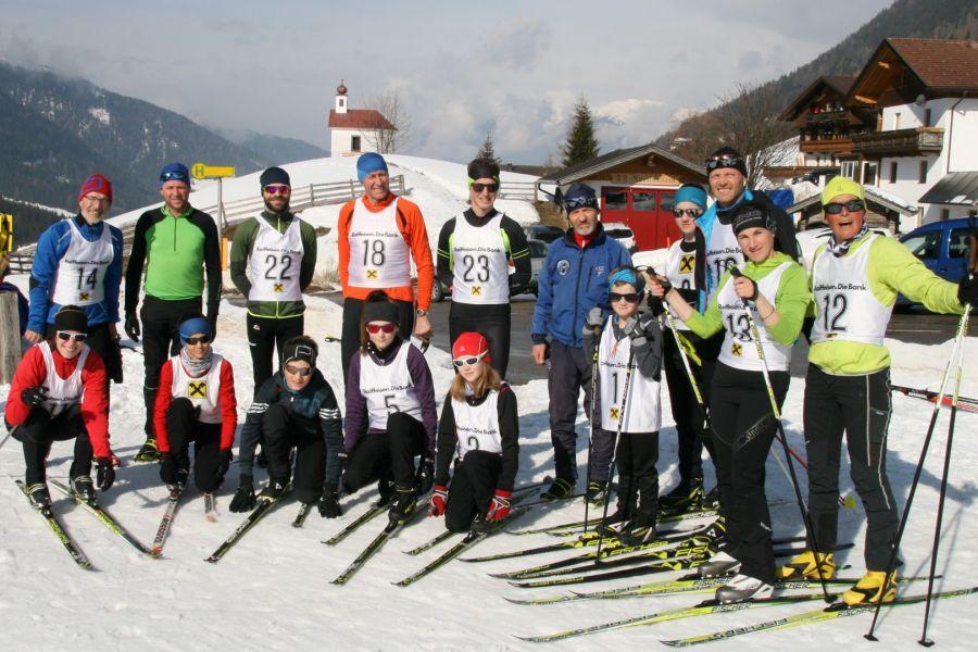 Sportunion Raika Strassen: Schilanglauf-Sektion ermittelte ihre Meister