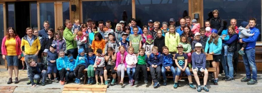 Familienausflug zur Olpers - Bergwelt