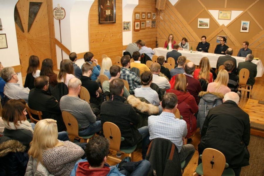 Jahreshauptversammlung BMK Strassen
