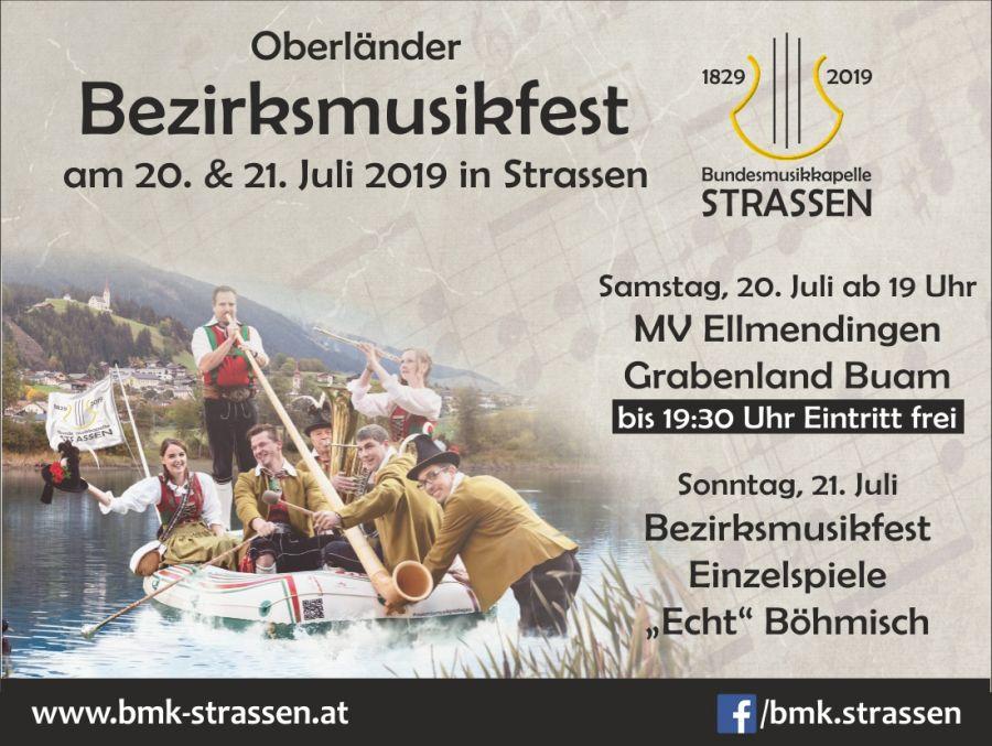 Bezirksmusikfest 20.-21.07.2019