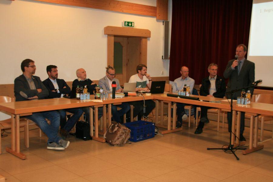 Gemeindeversammlung informierte über Projekte 2018